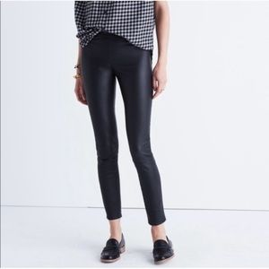 Madewell Anywhere Leather Pull On Jeans 6